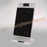 Transpraent Acrylic Jewelry Counter Display Stand/ Acrylic jewelry Display