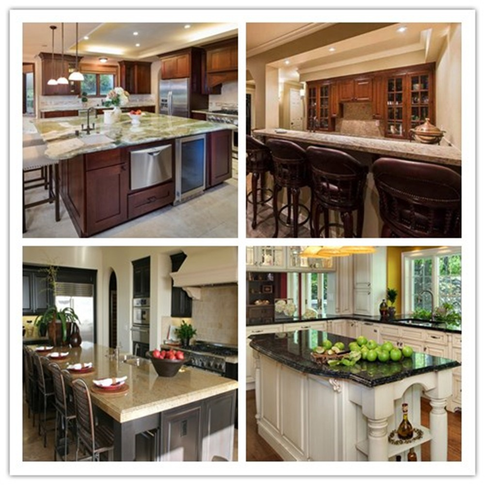 Prefab Customized Lowes Granite Countertops Colors