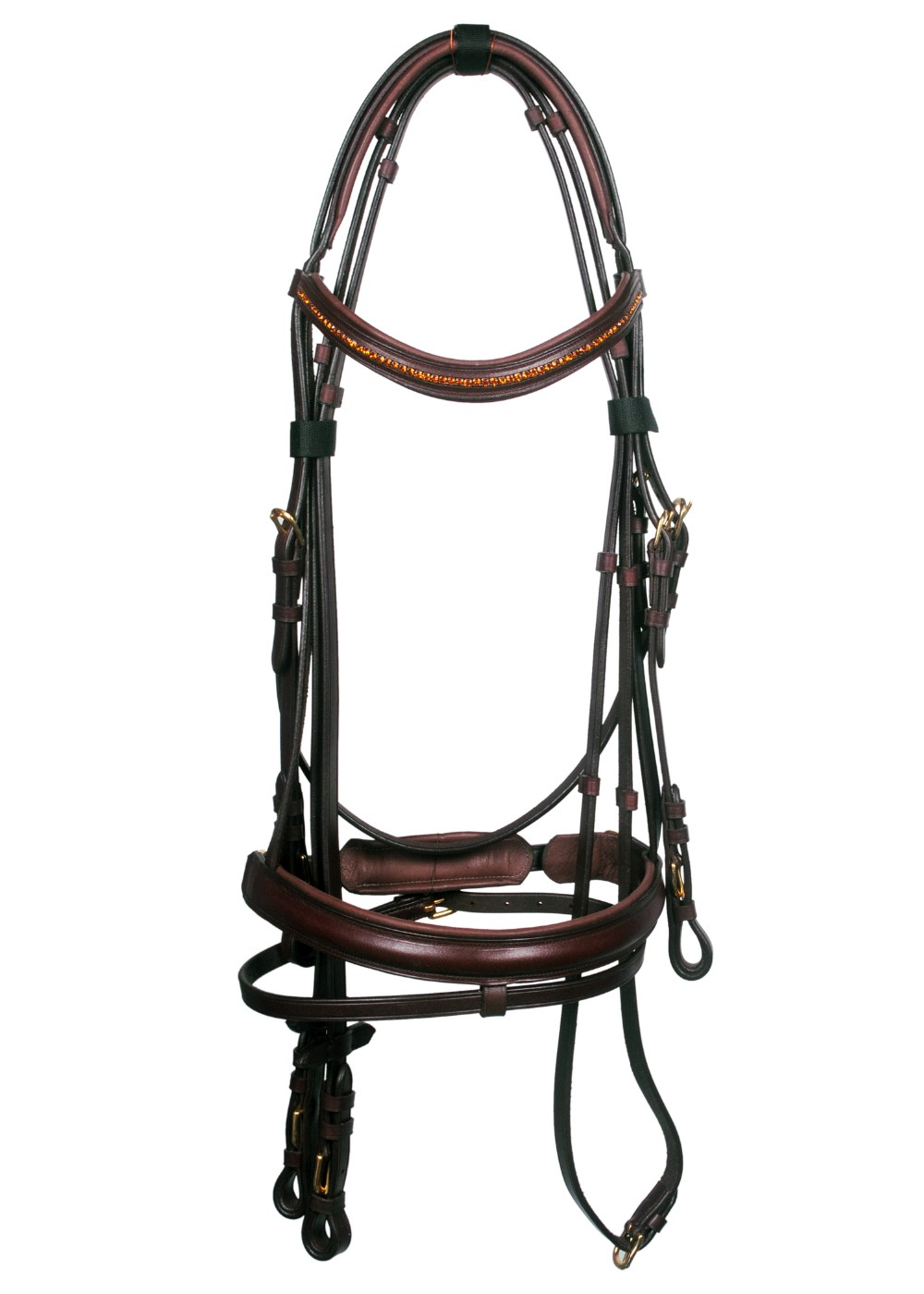 Buy New Online Nice Looking Comfortable Braided Decorative Horse Bridle