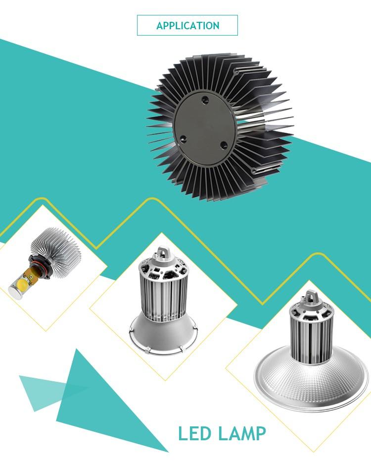 Customized Round Aluminum Heat Sink Buy Aluminum Heat