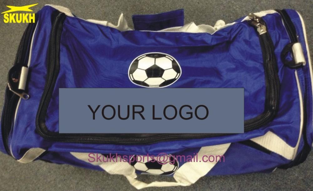 Soccer Duffel bag large adult Sports shoes Ball Net Blue Red black Green  Duffle aae9c51e67152