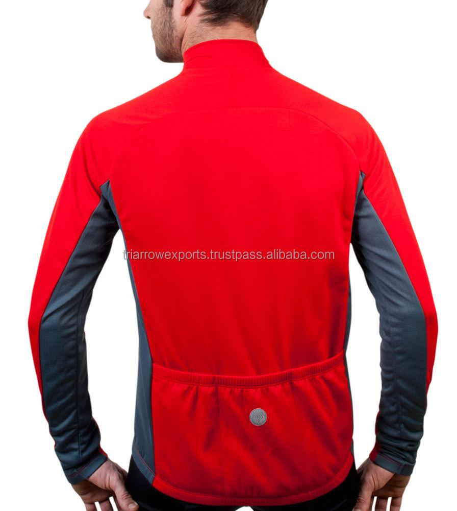 6ea4f7223 Big Men s Formaggio Long Sleeve Fleece Cycling Jersey - Buy Long ...