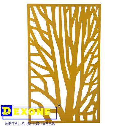 Metal Laser Cut Panels Aluminum Wall Art Panels Architectural Metal ...