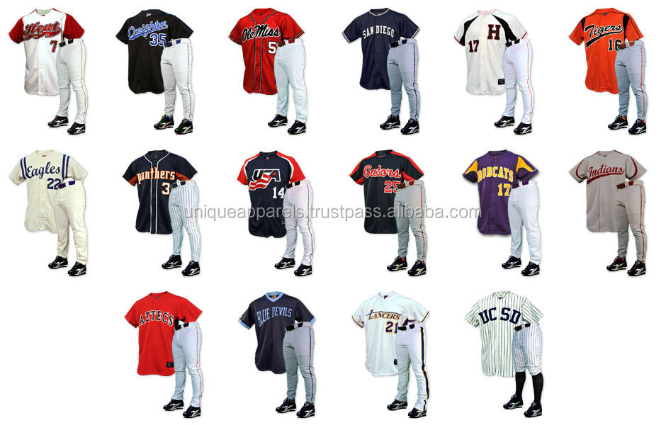 Baseball Uniform Supplier 12