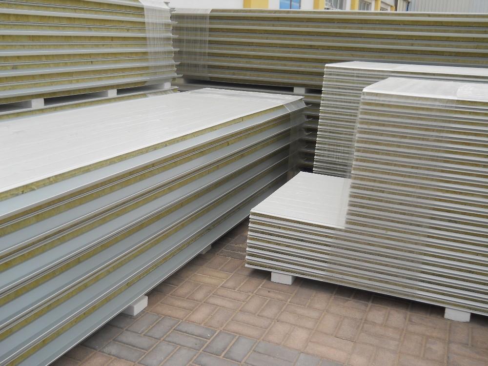 Metal Construction Materials Sandwich Panels Profile