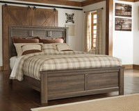 Juararo King and Queen Panel Bed