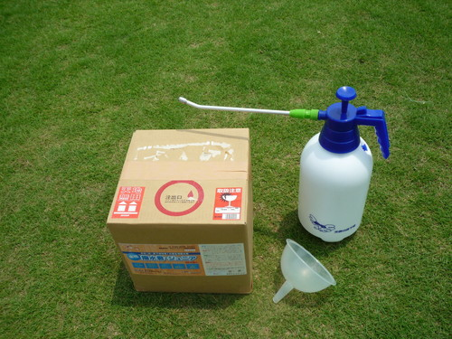 easy to use and Best-selling water repellent for building construction made in Japan