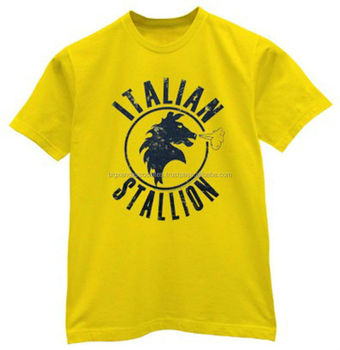 High quality custom t shirt with silk screen printing for T shirts silk screen printing