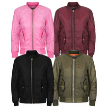 Hot Selling Brand New Boys Girls Kids Winter Jacket/Custom Biker Bomber Pilot Warm Padded Air Style Coat/Custom Ma-1 Bomber coat