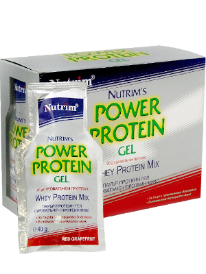 Private label ENERGIE PROTEIN GEL