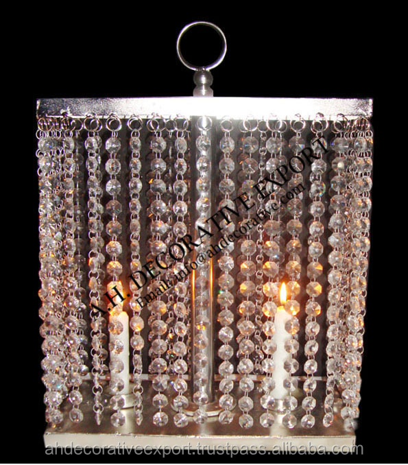 Chandelier table top with tea light holdercrystal chandelier for chandelier table top with tea light holder crystal chandelier for wedding table table top aloadofball Image collections
