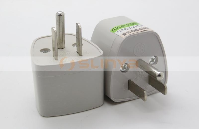 Japan,U.s.a,Canada 3 Pin American Conversion Socket Usa Plug To ...