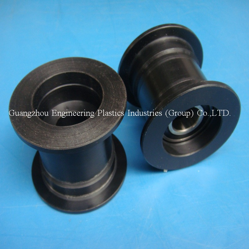 Plastic Pulleys For Sale : Customized casting nylon polymide belt pulley sheave injection moulding plastic pulleys