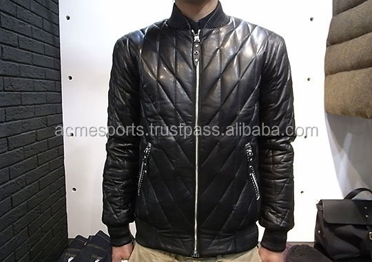 Bomber Jackets - High Quality 100% Genuine Cowhide Natural Grain ...