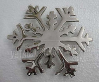 Metal Christmas Snowflake Ornaments Exclusive of 2015