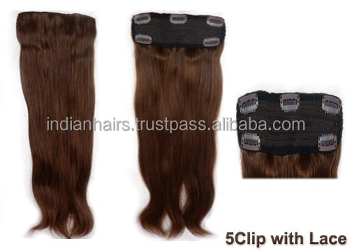 Long Curly Clip In Human Hair Extension