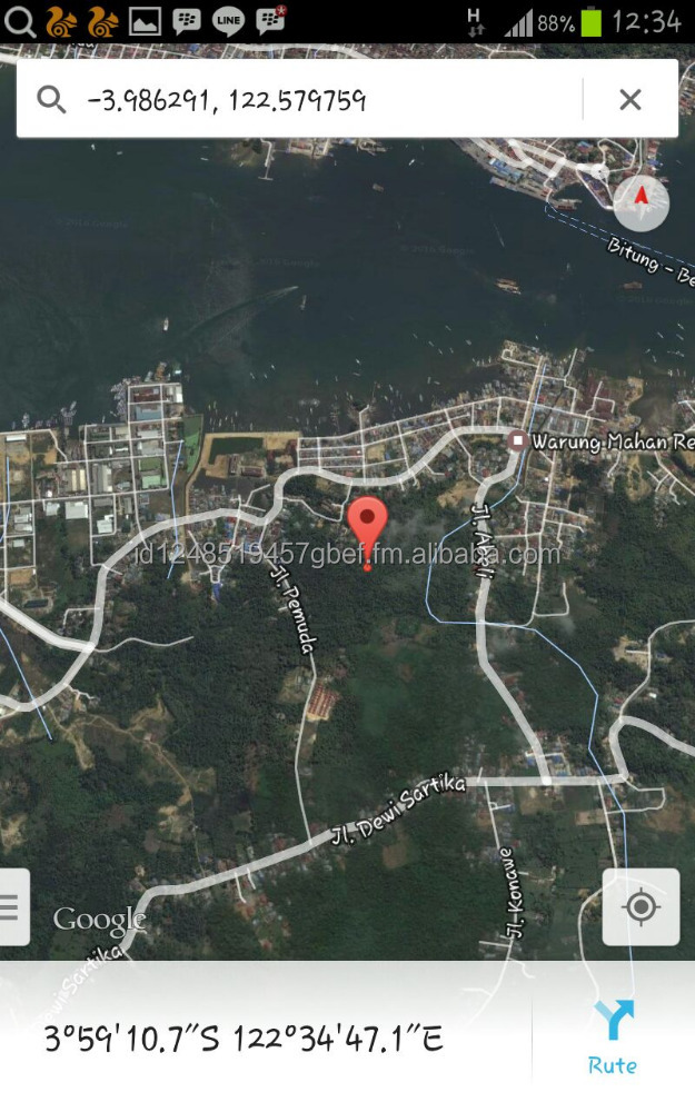 Residential, Commercial, and Industrial Land for Sale near Kendari Bay (Southeast Sulawesi)