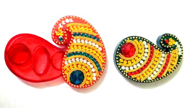 Ratna handicrafts Exclusive designer Indian Rangoli - assemblable RH-BM-K001