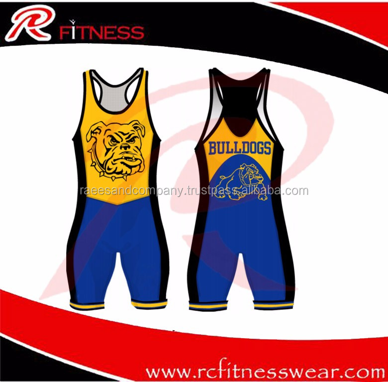 Wrestling Singlets and Wrestling Suits & Wrestling Gear | RC Fitness Wear