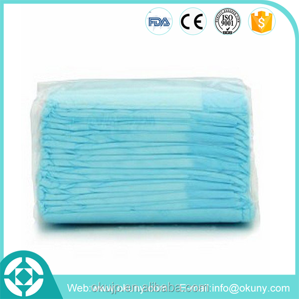 Liaoning adult bed underpads with pulp film tissue paper