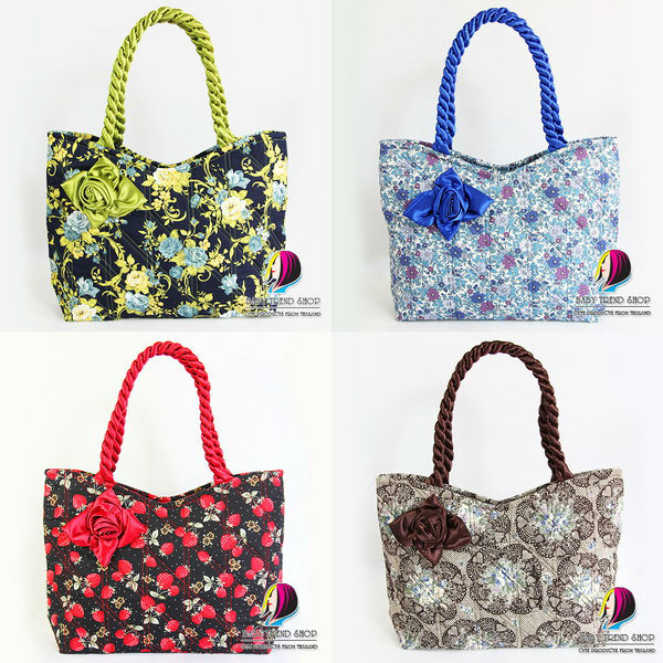 Handbags : Vintage Floral Ladies Handbags