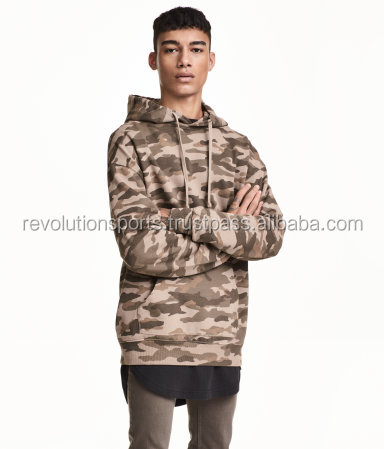 Exotic fleece Hoodies with dynamic camouflage designs 2017 hot seller
