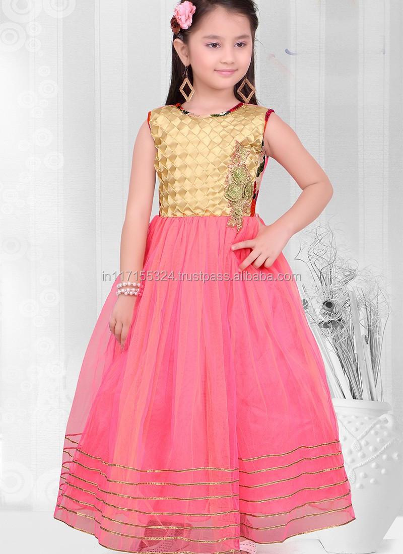 Fashion Dress 2016 Children Frock Designs For Winter Baby