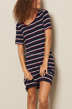 Women Sexy T-Shirt Dress Casual Fashion Two Color Polyester Cotton O Neck Wholesale Cheap Embroider Oem Customize Print
