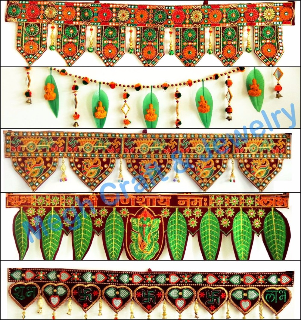 Wholesale indoor outdoor wall hanging indian crystal for Indoor diwali decoration