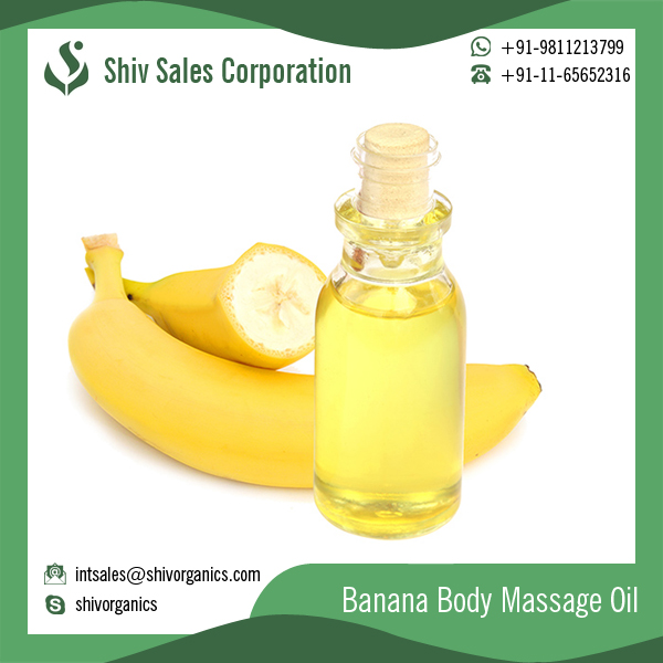 Aromatherapy Specialist Banana Oil for Cleaner Healthy Skin and Hair