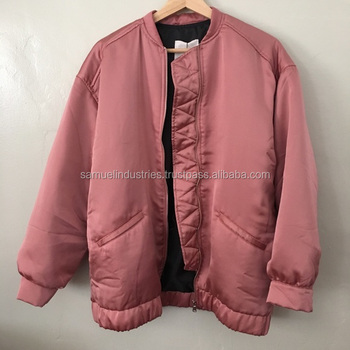 Classic Retro Satin\nylon\bomber Jacket\100% Satin Fabric Bomber ...