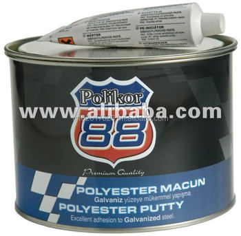 polikor 88 polyester putty buy polikor 88 polyester putty for car repair refinish macun. Black Bedroom Furniture Sets. Home Design Ideas