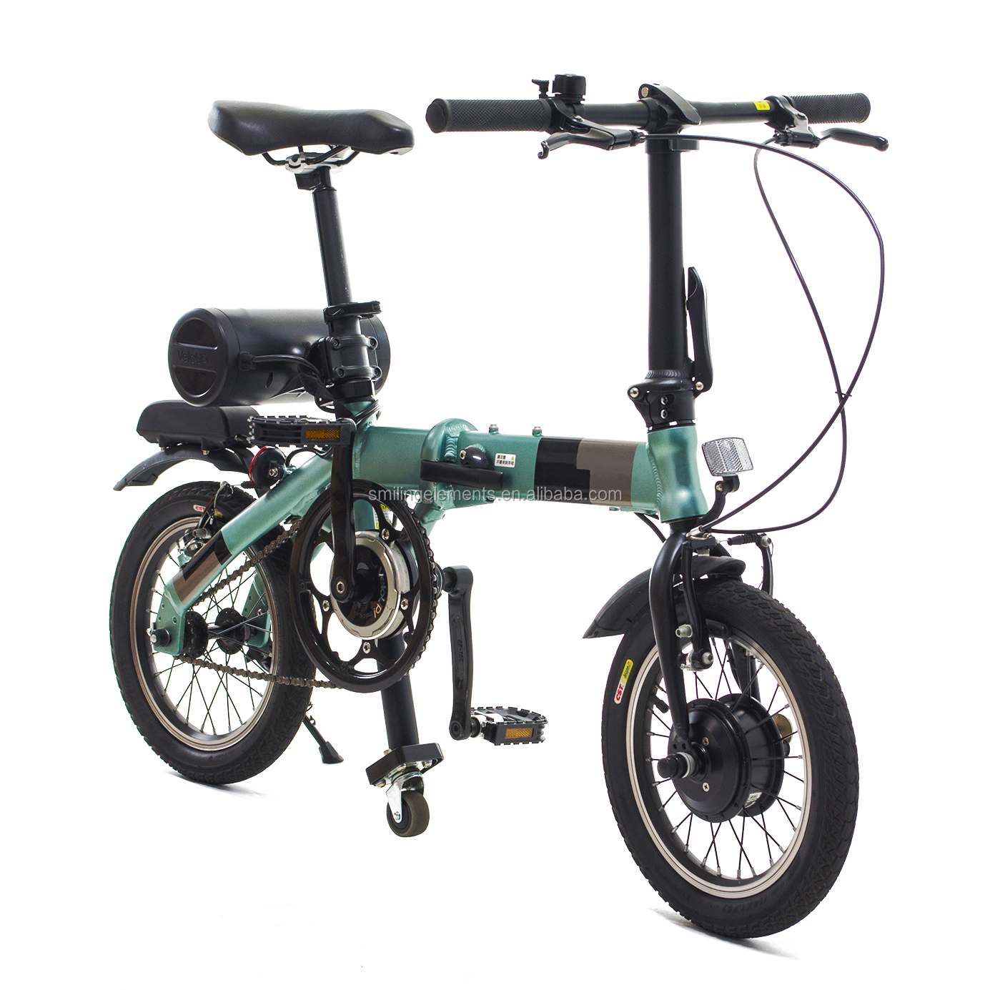 Best quality OEM/ODM 180W Mini 14 Inch tire Folding e-bike/ Electric bicycle/ ebike city