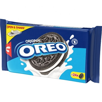 Oreo original biscuit 264g (Oreo Biscuits in different sizes) Mondelez Oreo biscuit Chocolate cookie