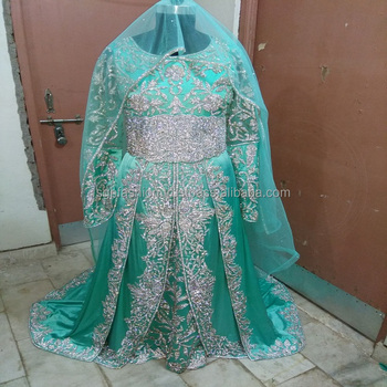 wedding Moroccan stone work Kaftans