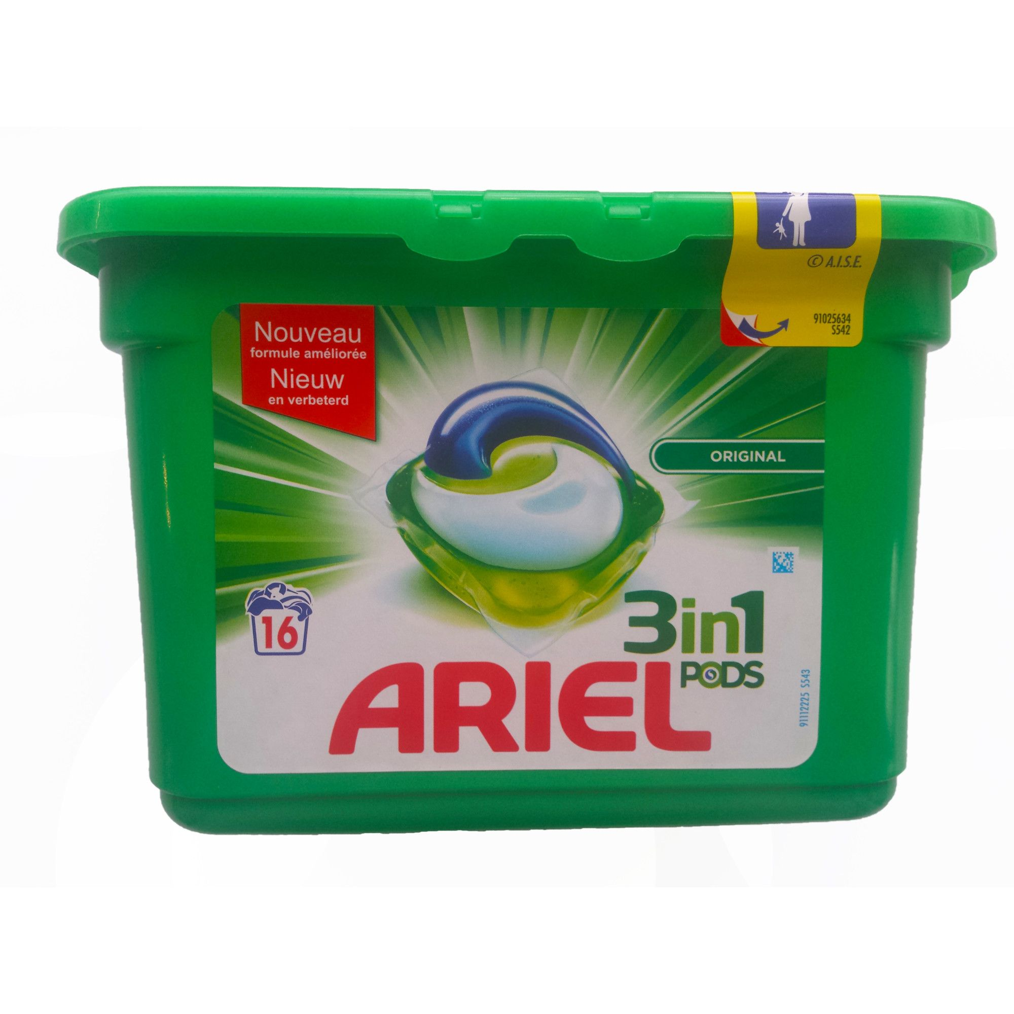 Ariel 3in1 VAGENS Originais (WhatsApp: + 4915213365384)