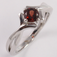 Genuine GARNET Gem Stone 925 Sterling Silver Ring Casting Jewelry Custom Design Manufacturer All sizes US 5 to 13