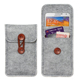 Protective Portable Mobile Phone Carrying Pouch Felt Phone Case Phone Cover