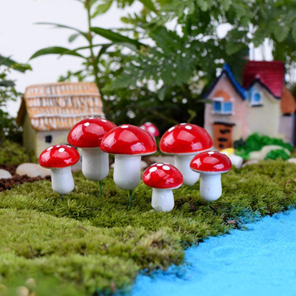 Colorful Miniature Garden Decor Diy Craft Mini Figurine Plant ...