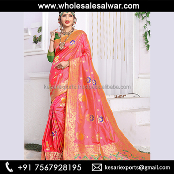 17fc6f8788 All types of art silk saree at wholesale - Art silk saree wholesaler in  kolkata -