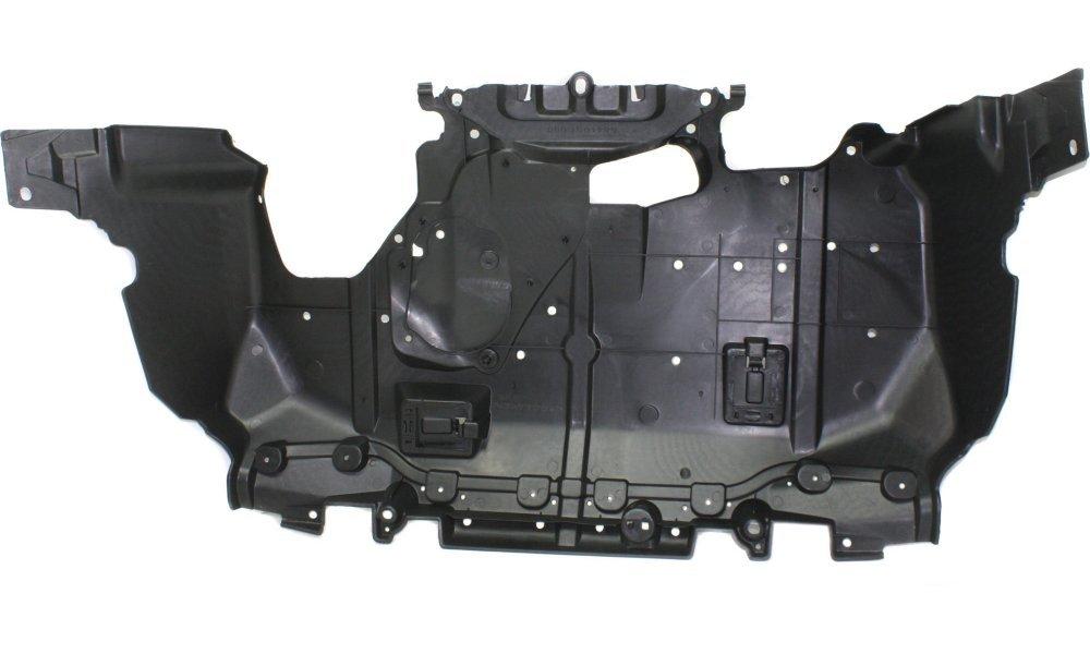 Evan-Fischer EVA201052815000 New Direct Fit Engine Splash Shield Plastic Engine Under Cover Front for Subaru Forester