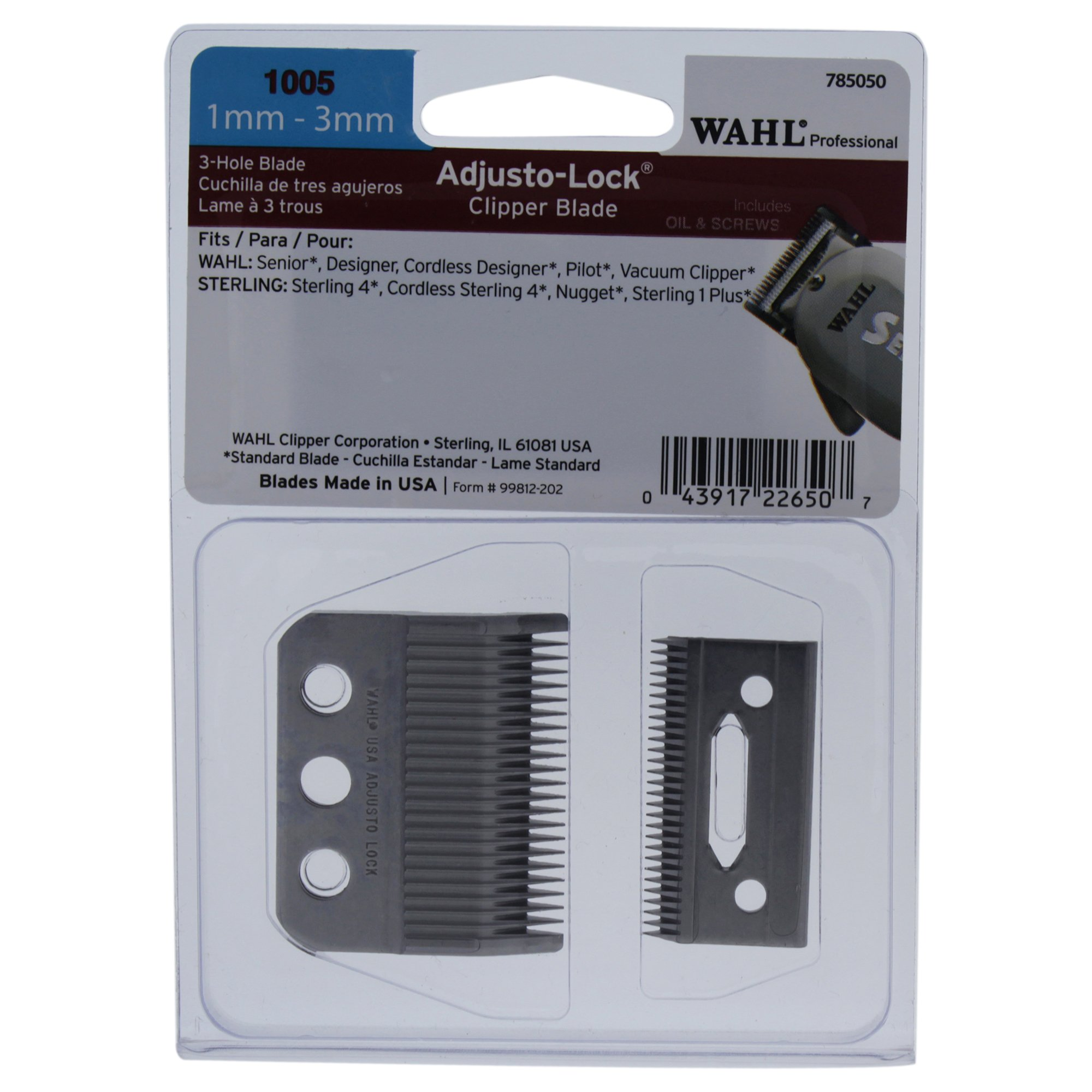 Cheap Wahl Clipper Oil Find Deals On Line At Classic Series 1 Usa Get Quotations Professional Adjusto Lock 1mm 3mm Blade 1005 Great