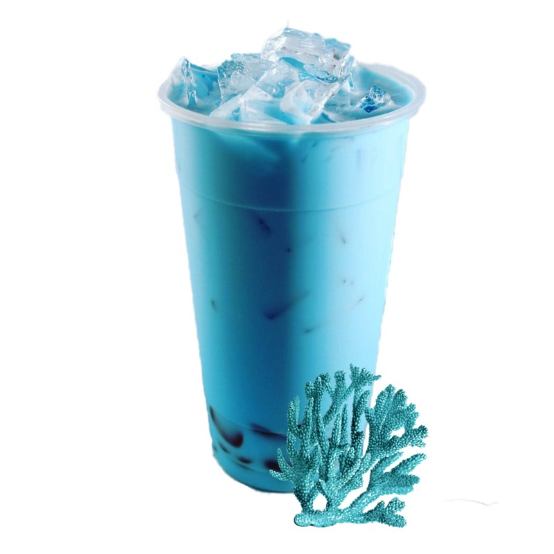 Premium Aromatic Blue Coral Instant Drink Powder