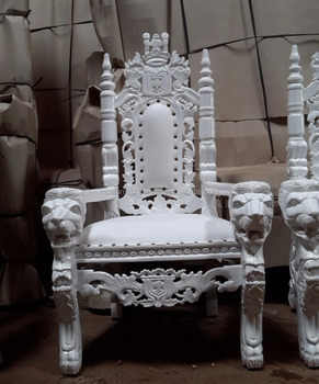 Kids Baby King Lion High Throne Chair