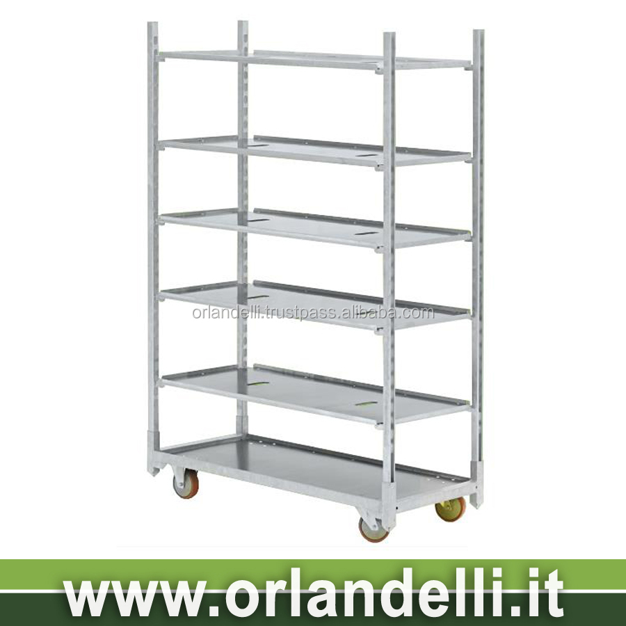 Dc Danish Container Cart Trolley For Flowers And Plants Greenhouse