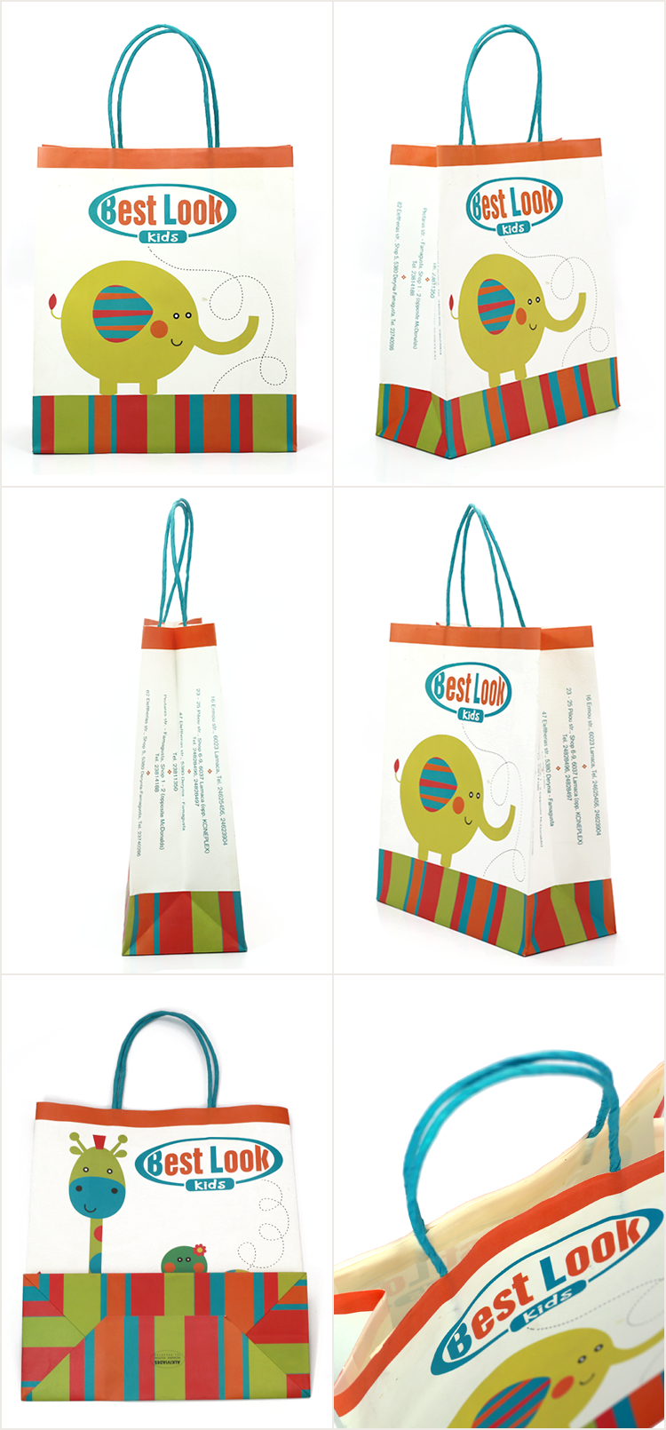 WKP-03 Gift Kraft Paper Bag For Children Product