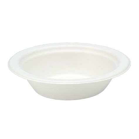 400ml Disposable 100% Compostable Eco-friendly  Bento Bagasse Bowl