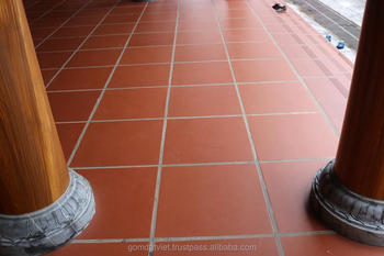 Wholesale Terracotta Tile Floor Non-slip Restaurant Floor Tile Red ...