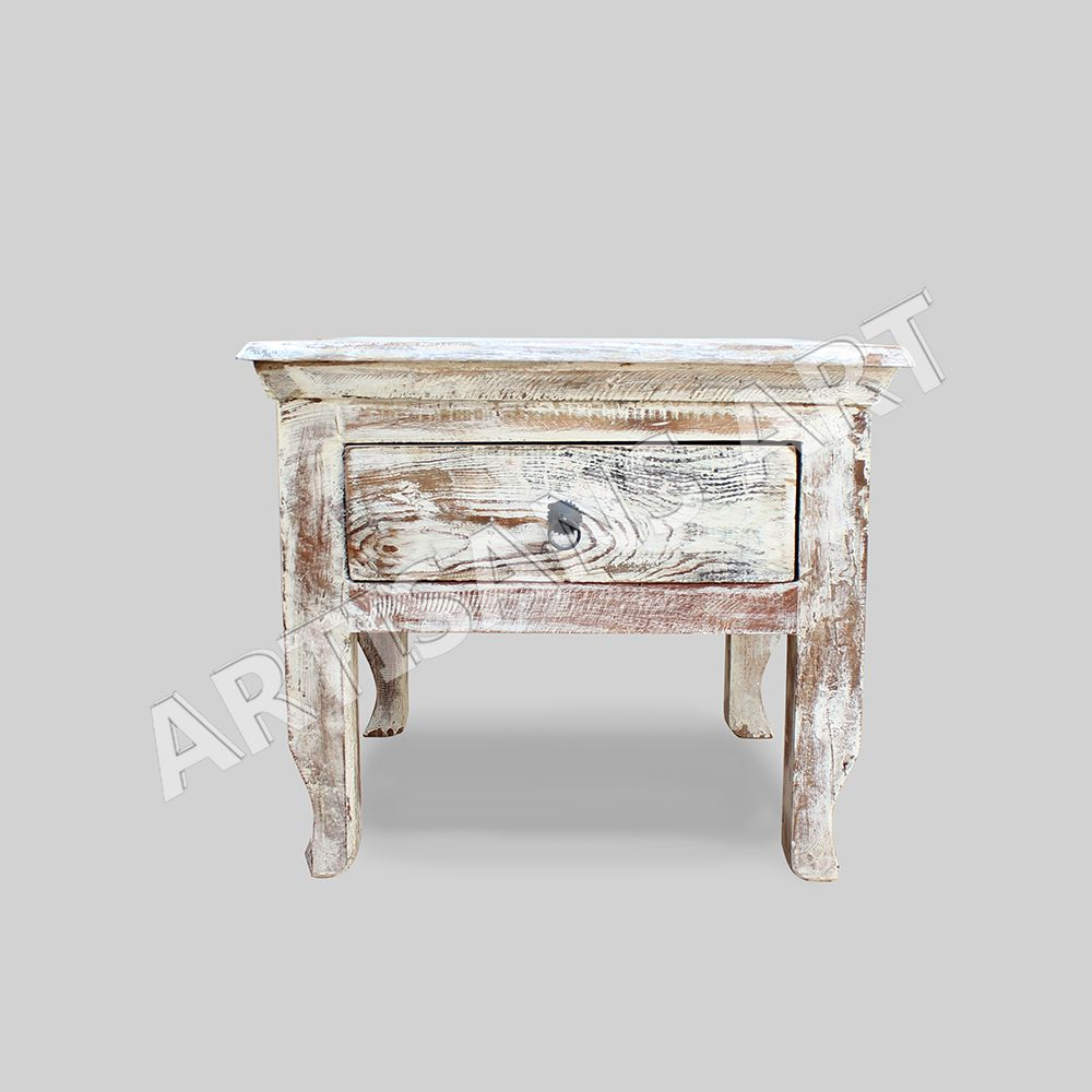 distressed white washed furniture. Whitewashed Furniture. Reclaimed 2 Drawers Coffee Table, Hand Finished Antique White Washed, Distressed Washed Furniture