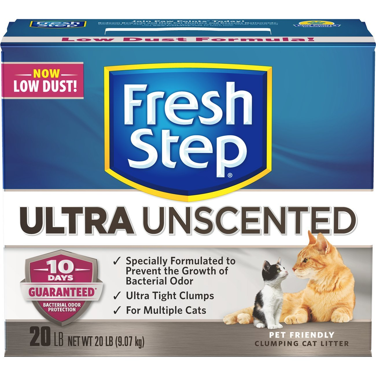 Fresh Step Ultra, Clumping Cat Litter, Unscented